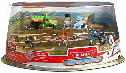 Disney Planes Figure Play Set - Propwash Junction with ...
