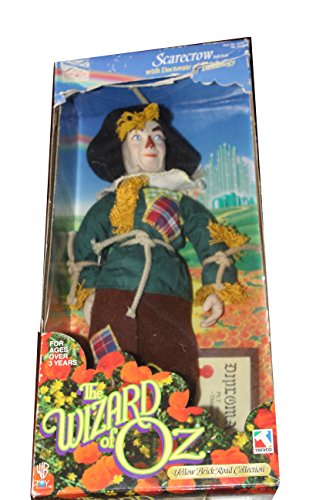 "Scarecrow 15"" soft doll by Trevco Yellow Brick Road Collection 1998 - 1"