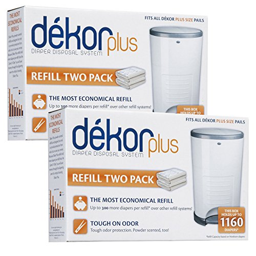 Diaper Dekor Plus Refill - 4 Pk back-73550