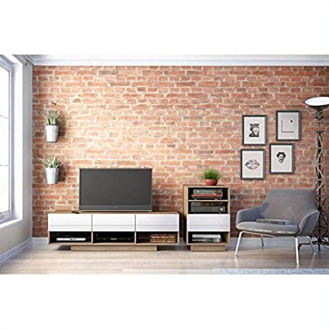 Sequence 60-inch TV Stand & 1 Audio Tower