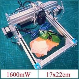 1.6W Desktop DIY Violet Laser Engraver Engraving Machine Picture CNC Printer Assembling Kits