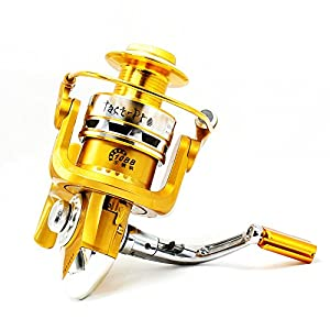 Tact-Pro Saltwater Fishing Reels, Open Face Spinning Reel Professional for Sea Fishing