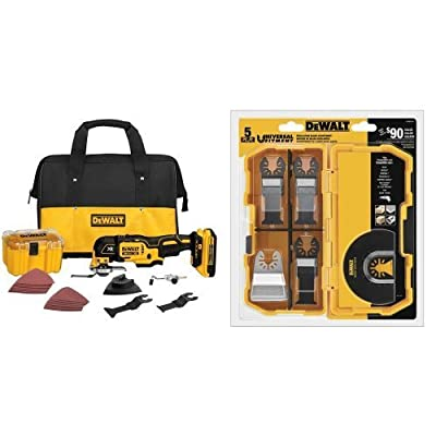 DEWALT DCS355D1 20V XR Lithium-Ion Oscillating Multi-Tool Kit