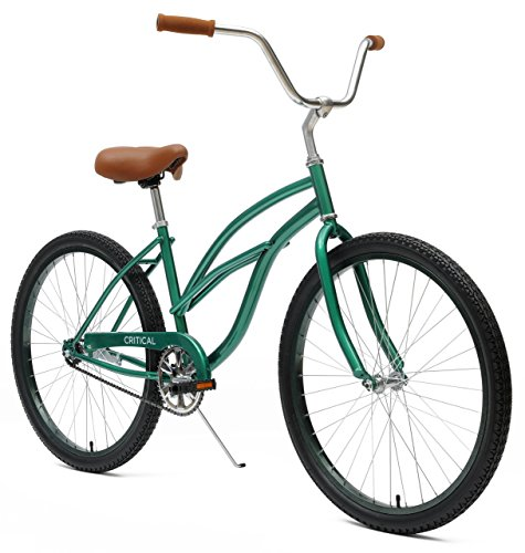Critical-Cycles-Womens-Beach-Cruiser-1-Speed-Bike