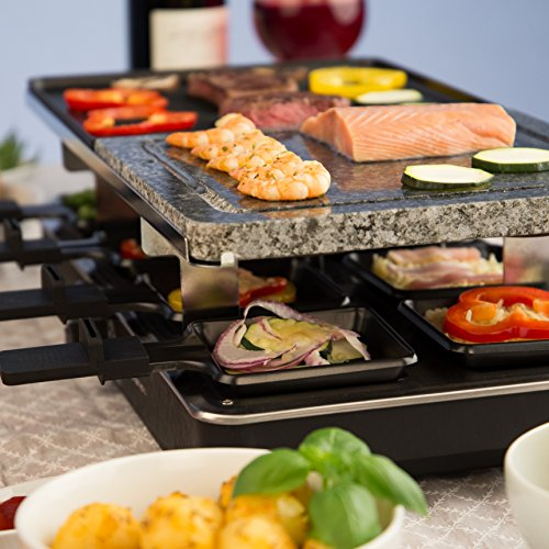 ultratec four raclette pour 8 personnes avec 2 grilles 1400 w meilleures ventes boutique. Black Bedroom Furniture Sets. Home Design Ideas