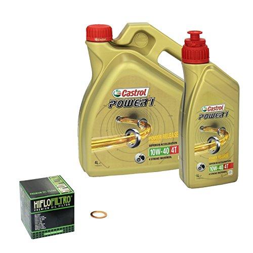 castrol-power1-10w-40-olwechsel-set-suzuki-gsx-1100-g-bj-91-96-motorol-hiflo-olfilter-und-dichtring