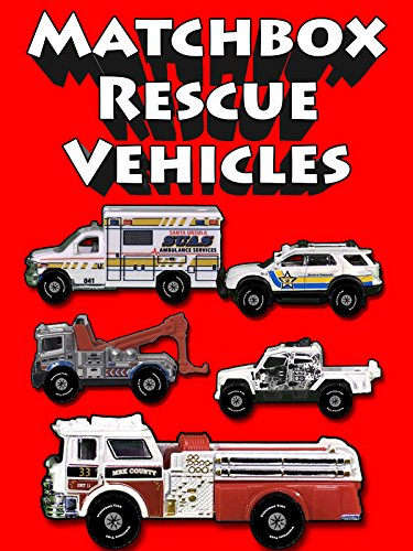 Matchbox Rescue Vehicles