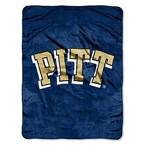 Buy NCAA Pittsburgh Panthers Grunge Micro Raschel Throw Blanket, 46x60-Inch by Northwest