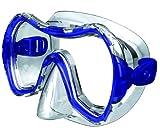 Salvas Herren Tauchmaske Drop MD, transparent/transparent blue, M, CA530C1 B