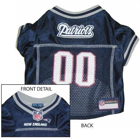 Pets First Official NFL New England Patriots Jersey Medium