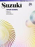 Shinichi Suzuki Suzuki Violin School, Volume 6 [With CD (Audio)]