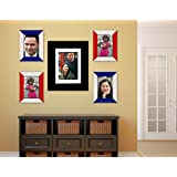 Exclusive Wall Decore _Wall Hangings_Set Of 5 Photo Frames_Multiple Photo Frame Edition_Diwali Decoration
