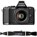 """Olympus E-M5 Appareil photo numérique hybride 16,1 Mpix Écran 3"""" Boîtier + Objectif M.Zuiko Digital ED 12-50mm Noir"""