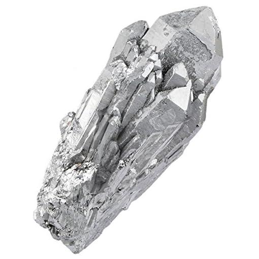 Shanxing-Natrlichen-Bergkristall-Titanium-berzogen-Quarz-Drusen-Edelstein-Kristall-Cluster-DekorationSilber