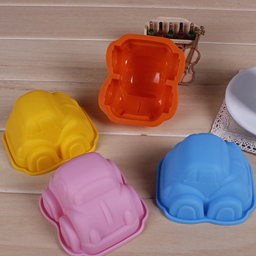 Car Mold Silicone Chocolate Cake Mould Cake Tools Cookie Cutter Fondant Bakeware Tools