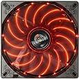 ENERMAX PCケースファン TBアポリッシュ14cm レッド UCTA14N-R