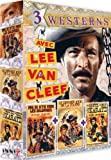 echange, troc 3 westerns avec Lee Van Cleef (3 DVD)