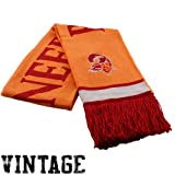NFL Mitchell & Ness Tampa Bay Buccaneers Red-Orange Glaze Vintage NFL Scarf