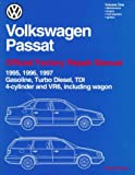 Volkswagen Passat: Official Factory Repair Manual 1995, 1996, 1997 : Gasoline, Turbo Diesel, Tdi 4-Cylinder and Vr6, Including Wagon