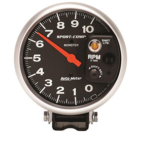 Auto Meter 6397 Sport Comp Digital 3-3//8 10000 RPM Digital In-Dash Tachometer