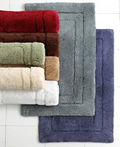Hotel Collection Bath Rug Cotton Collection Vanilla 30 In X 50 In