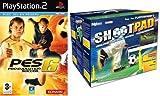 echange, troc Pack ShootPad comprenant Le simulateur de Football + Jeu Pro Evolution Soccer 6
