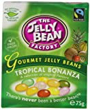 The Jelly Bean Factory Box of Gourmet Tropical Bonanza Jelly Beans 75 g (Pack of 8)