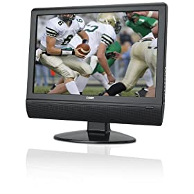 Coby TFTV1524 15-Inch Widescreen TFT LCD HDTV/Monitor with HDMI Input (Black)