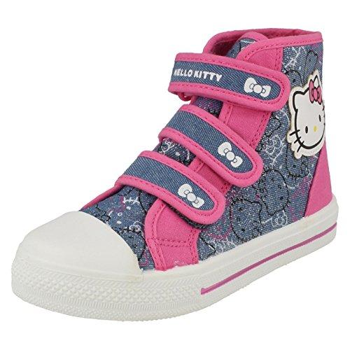 "Ragazze Hello Kitty ""Pernice Tela Boot, (Dark Blue Multi), 45 EU"
