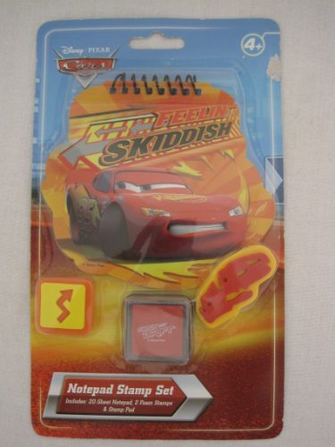 Disney-Pixar Cars Feelin' Skiddish Notepad Stamp Set - 1