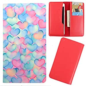DooDa - For iPhone 5C PU Leather Designer Fashionable Fancy Case Cover Pouch With Card & Cash Slots & Smooth Inner Velvet
