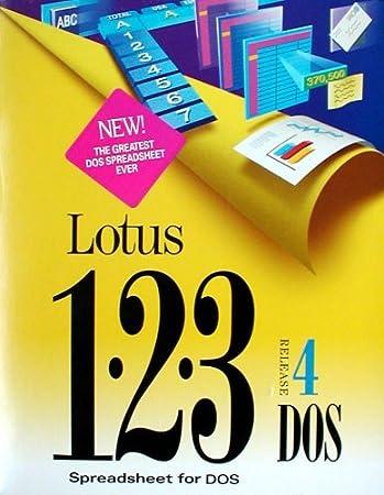 Lotus 123 4.0 DOS