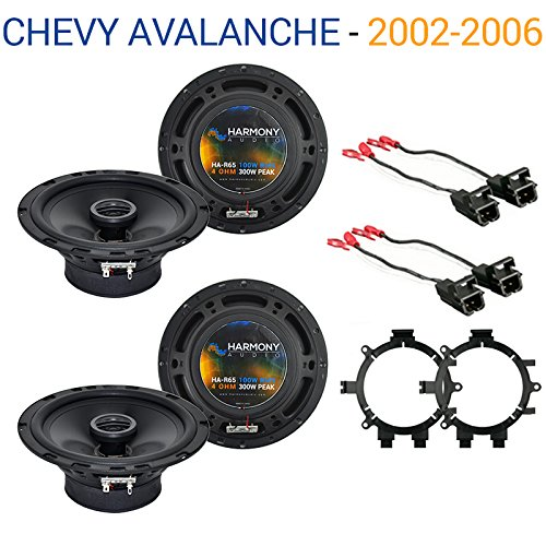 chevy-avalanche-2002-2006-oem-speaker-replacement-harmony-2-r65-package-new