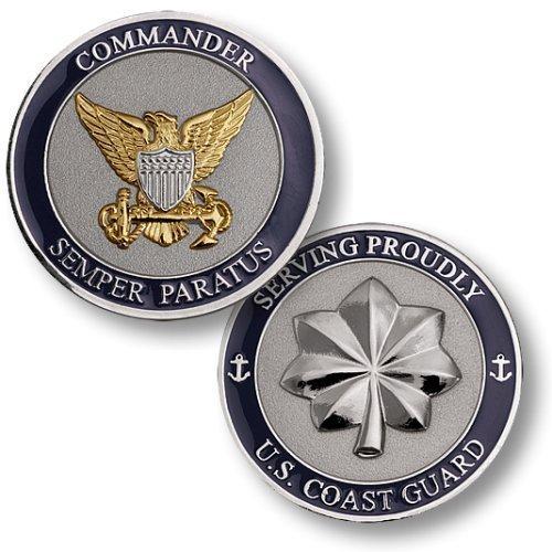 USCG Commander Challenge Coin - 1
