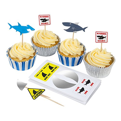 Meri Meri Shark Cupcake Kit