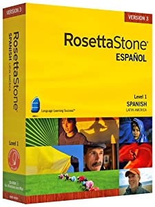 Rosetta Stone V3: Spanish (Latin America) Level 1 [OLD VERSION]