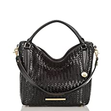 Norah Hobo Bag<br>Black Woven Luxe