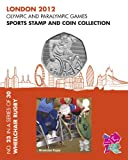 London 2012 Olympic and Paralympic Games sports Stamp and Coin Collection - WHEELCHAIR RUGBY (No.23 in a set of 30)