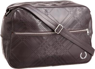 Fred Perry Tartan Embossed Shoulder Bag 73