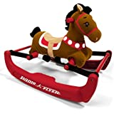 Radio Flyer Soft Rock and Bounce Pony with Sound