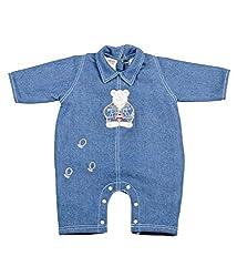 Tillu Pillu Unisex Body Suit (KDC_94_Blue_3-6 Months)