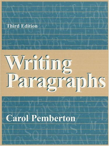 Writing Paragraphs (3rd Edition)