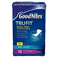Huggies GoodNites Tru-Fit Real Underwear Disposable Absorbent Inserts Refill Pack for Boys and Girls by Goodnites