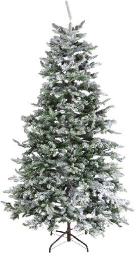 Kaemingk 688643 Noble Pine , beschneit, PE - PVC Nadel Mix, innen, Höhe 240 cm thumbnail