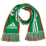 Adidas Performance Mexico Home Scarf, Green/Red/White, One Size Fits Men, One Size Fits Men/Green/Red/White