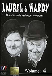 Laurel And Hardy - Classic Comedy Shorts - Vol. 4 [DVD]