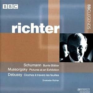 Sviatoslav Richter plays Schumann, Moussorgski, Debussy