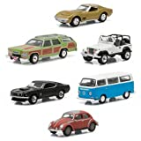 Hollywood Series 12 Die-Cast Metal Vehicle Set