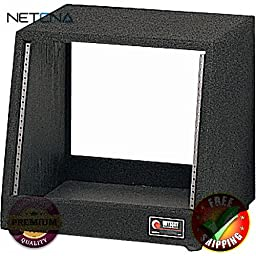 CRS12 Carpeted Studio Rack (12U) With Free 3 Feet NETCNA HDMI Cable - BY NETCNA