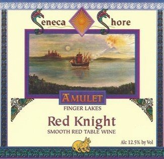 "Nv Seneca Shore Wine Cellars ""Red Knight"", Finger Lakes, Dry Red Wine Blend, 750 Ml"